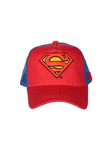 Superman Logo Red Cap - Planet Superhero