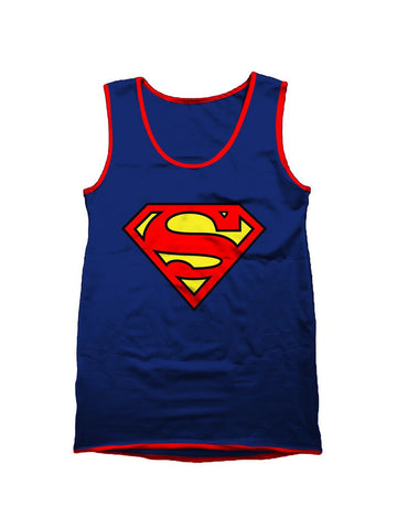 Superman Original Logo Vest - Planet Superhero