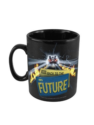 Back to the future coffee Mug - Planet Superhero