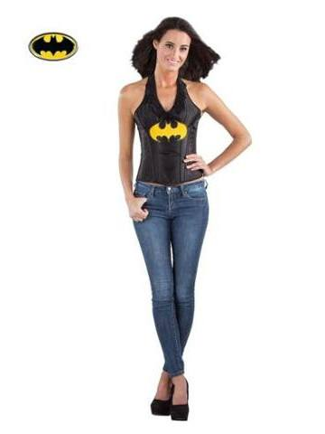 Batgirl Leather Corset - Planet Superhero