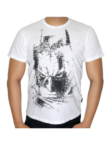 Batman White face T-Shirt