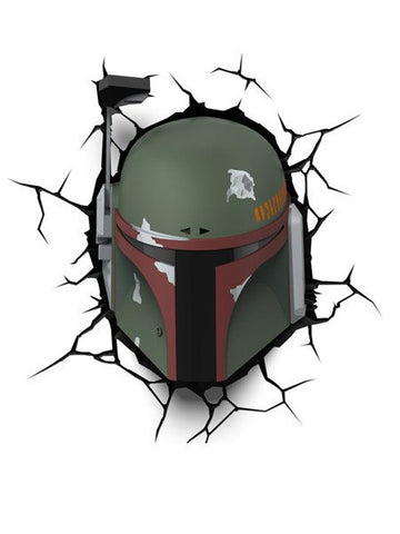Star Wars 3D Night Light - Boba Fett - Planet Superhero