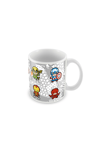 Kawaii Cast Avengers Coffee Mugs