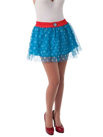 Captain America Skirt - Planet Superhero