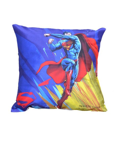 Superman In Action Cushion Cover - Planet Superhero