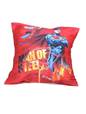 Superman Man Of Steel Cushion Cover Original - Planet Superhero