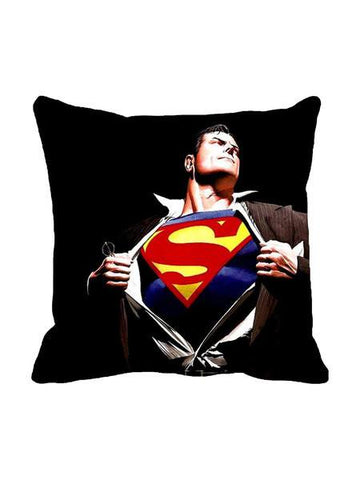 Superman Logo Revealed Cushion Cover - Planet Superhero
