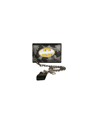 Metallic Batman Chain Wallet