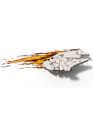 Star Wars 3D Night Light - Millenium Falcon