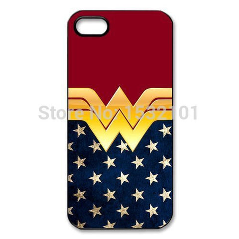 Wonder Woman  Case for iPhone 4 4S 5 5S 5C 6 6S Plus Samsung Galaxy S3 S4 S5 Mini S6 S7 Edge Plus A3 A5 A7 - Planet Superhero