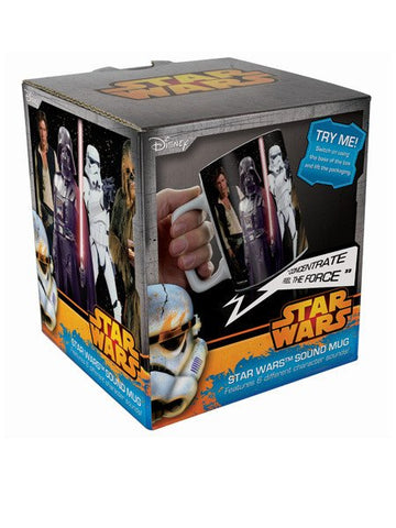 Star Wars Mug With Sounds - Planet Superhero