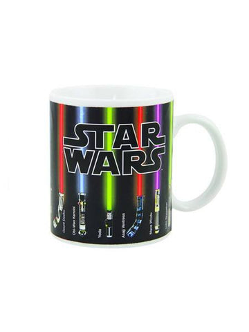 Star Wars Lightsaber Heat Change Mug - Planet Superhero
