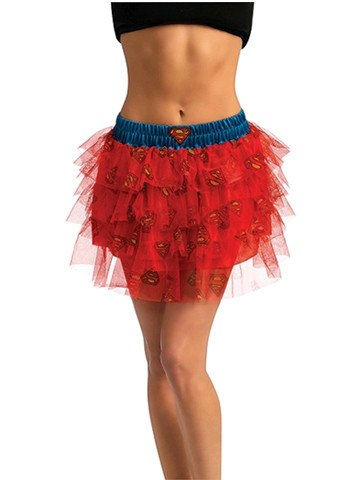 Supergirl Skirt With Sequins