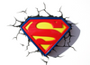 Image of Superman Logo 3D Light