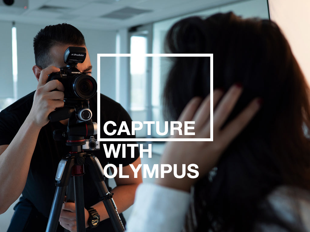 Join us for a live stream of 'Capture with Olympus: Flash'