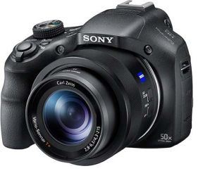 Sony DSC-HX400V 20.4MP CMOS 50x Zoom Digital Camera Black
