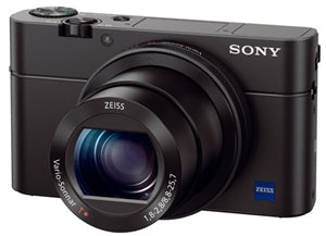 Sony DSC-RX100M3 20.1MP CMOS 24-70mm Digital Camera Black