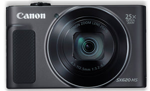 Canon PowerShot SX620HS 20.2MP CMOS 25x Zoom Digital Camera Black