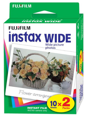 Fujifilm Instax Wide Film 20 Pack