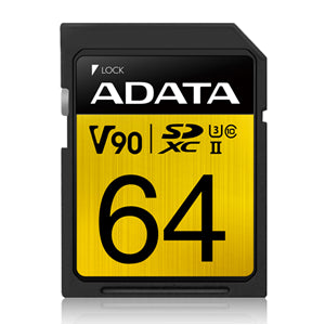 ADATA Premier ONE V90 UHS-II SDXC Card 64GB