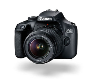 Canon EOS 3000D 18.0MP DSLR (EFS 18-55 III) Camera