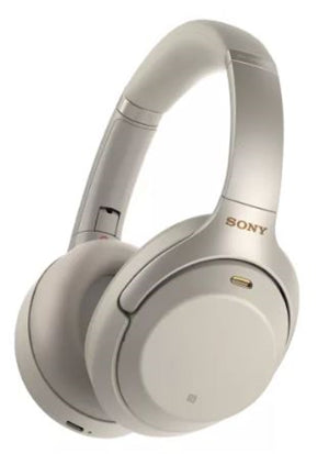 Sony WH1000XM3S Wireless Noise Cancelling Overhead Headphones Silver