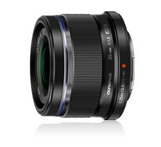 Olympus 25mm f1.8 Portrait Micro Four Thirds Lens Black