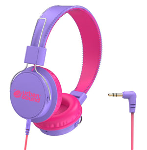 Verbatim Urban Sound Volume-Limiting Kids Headphones - Purple/Pink