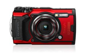 Olympus TG-6 Tough Digital Camera Red