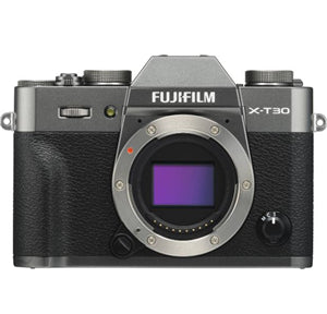 Fujifilm X-T30 26.1MP APS-C Mirrorless Camera X Mount Charcoal Silver