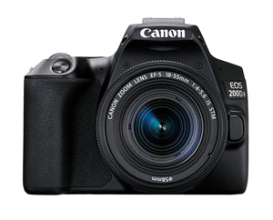 Canon EOS 200D Mark II 24.1MP APS-C DSLR (18-55 IS STM II) Camera