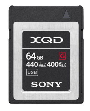 Sony QDG64F XQD Card 64GB