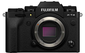 Fujifilm X-T4 26.1MP APS-C Mirrorless Camera X Mount Black Body Only