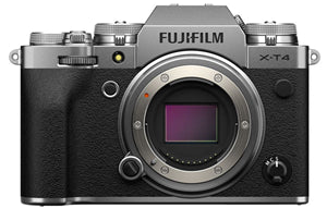 Fujifilm XT4 Digital Camera Body Only Silver