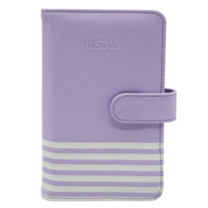 Fujifilm Instax Mini Album Lilac Purple with Stripe