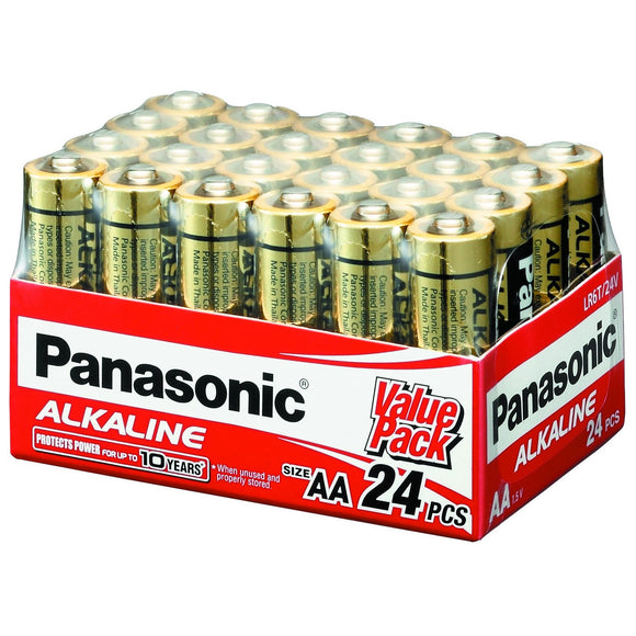 PANASONIC AA BATTERY 24 PK