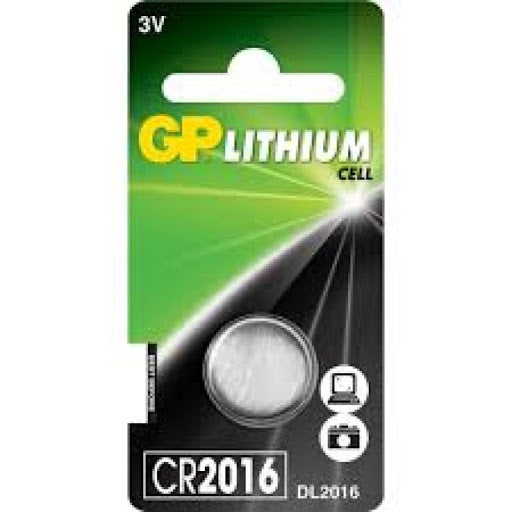 GP - Button Cell - CR2016 1Pk