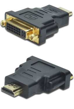 Digitus HDMI Type A (M) to DVI-I (F) Adapter