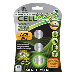 CELLMAX 1.5VOLT AG5/393 BATTERY