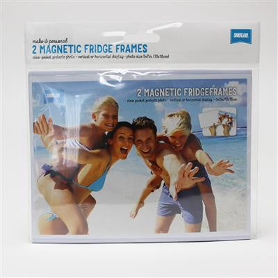 SHOT2GO MAGNETIC FRIDGE FRAMES 5X7 SIZE 2PK