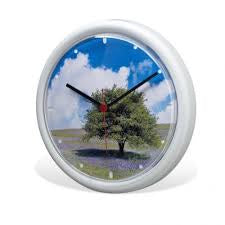 INSERTABLE WALL CLOCK - CHROME