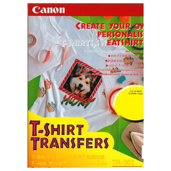 CANON T-SHIRT TRANSFER A4