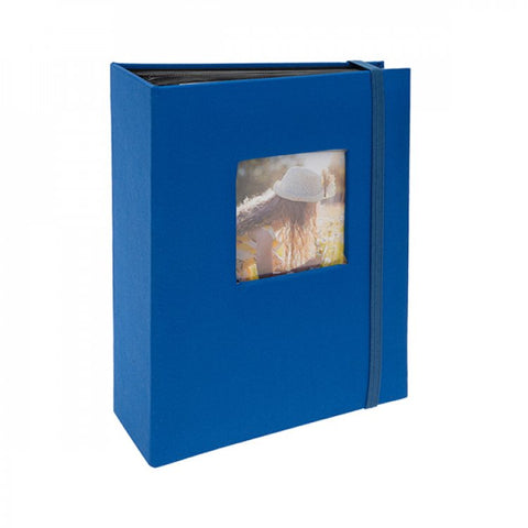 "Kenro Aztec Minimax Album Blue 6x4"" 100 photos"