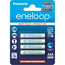 Panasonic Eneloop AAA 4PK RECHARGEABLE BATTERY