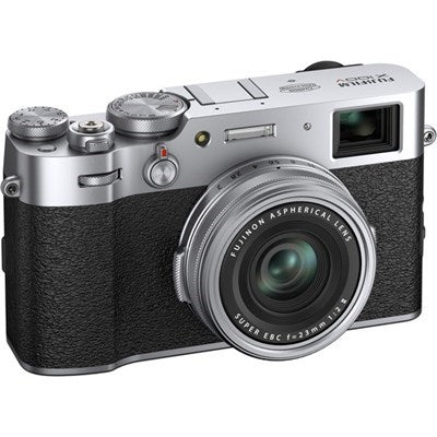 Fujifilm X100v 26.1MP APS-C Digital Camera 23mm Lens Silver