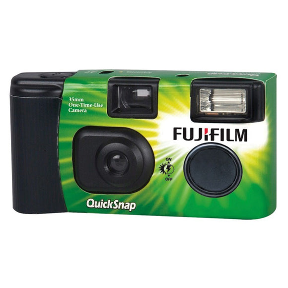 Fujilfim QuickSnap 800 Flash 400 Single Use 135mm Film Camera