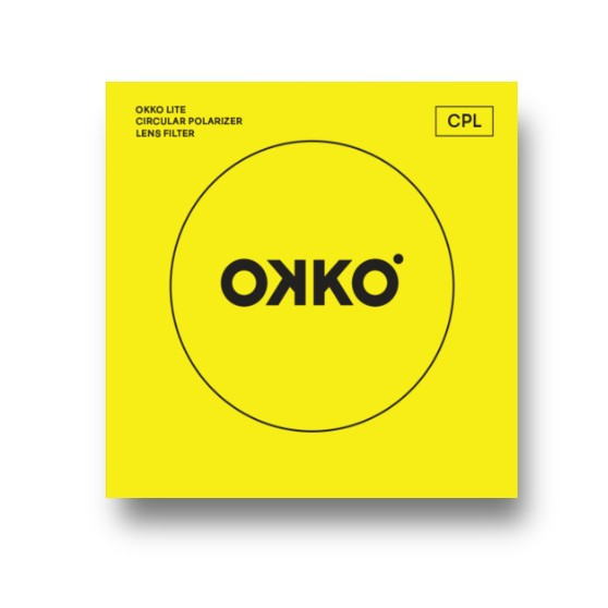OKKO Lite 62mm Circular Polarising Filter