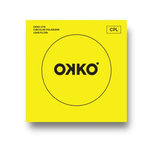 OKKO Lite 72mm Circular Polarising Filter