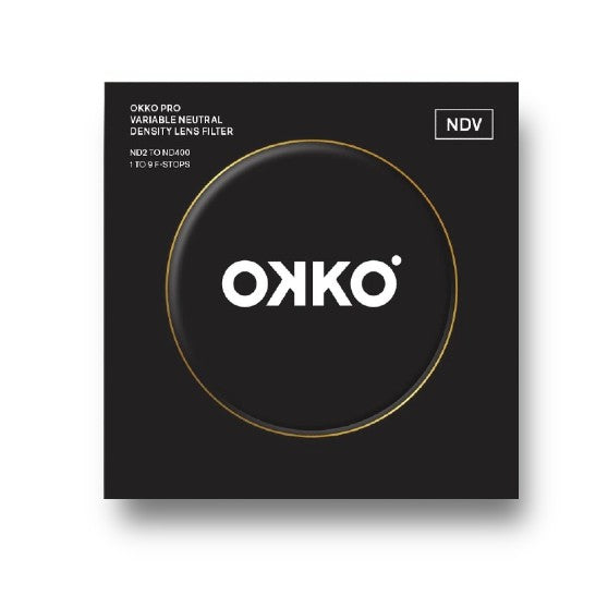 OKKO Pro 62mm Variable ND Filter 1-9 Stops