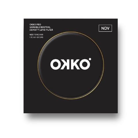 OKKO Pro 58mm Variable ND Filter 1-9 Stops